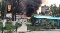 """Сгорел рынок """"Салют"""", Фото: 21"""