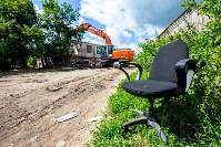 Снос домов в Плеханово. 6 июля 2016 года, Фото: 43