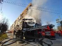Пожар в пиццерии на Красноармейском, Фото: 1