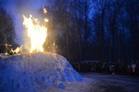 В ЦПКиО сожгли чучело зимы, Фото: 35