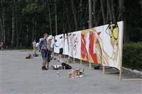 Молодые туляки попытали свои силы на конкурсе граффити, Фото: 2