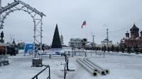 Демонтаж новогодних украшений, Фото: 7