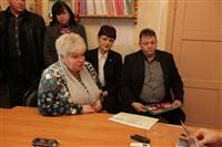 Встреча с губернатором. Узловая. 14 ноября 2013, Фото: 5