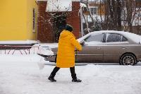 Последствия снежного циклона в Туле, Фото: 42