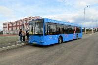 Московские автобусы вышли на маршрут, Фото: 1