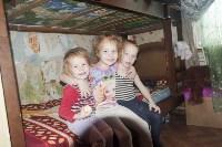 Многодетная семья живет в аварийном бараке, Фото: 9