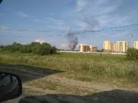 В Туле загорелось «кладбище» автомобилей, Фото: 6