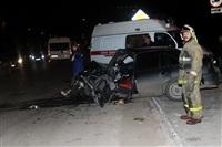 На ул. Металлургов в Туле лоб в лоб столкнулись две Daewoo, Фото: 8