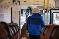 Как в Туле дезинфицируют маршрутки и автобусы, Фото: 17