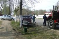 Автоледи на семерке не справилась с управлением и совершила наезд на пешехода, Фото: 1