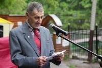 В Центральном парке появилась мемориальная табличка создателю «живого уголка», Фото: 15