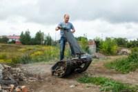 Туляк Виталий Галеев придумал сегвей на гусеницах, Фото: 20