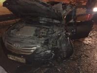 В Ясногорском районе иномарка влетела под фуру, Фото: 1