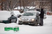 Последствия снежного циклона в Туле, Фото: 19