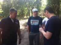Евгений Авилов и блогеры в Баташевском парке, Фото: 3