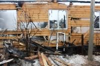 Пожар в цыганском поселении в Плеханово, Фото: 6