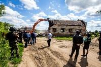 Снос домов в Плеханово. 6 июля 2016 года, Фото: 21
