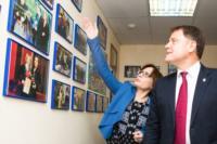 Владимир Груздев пообщался с журналистами «Слободы» и Myslo, Фото: 2