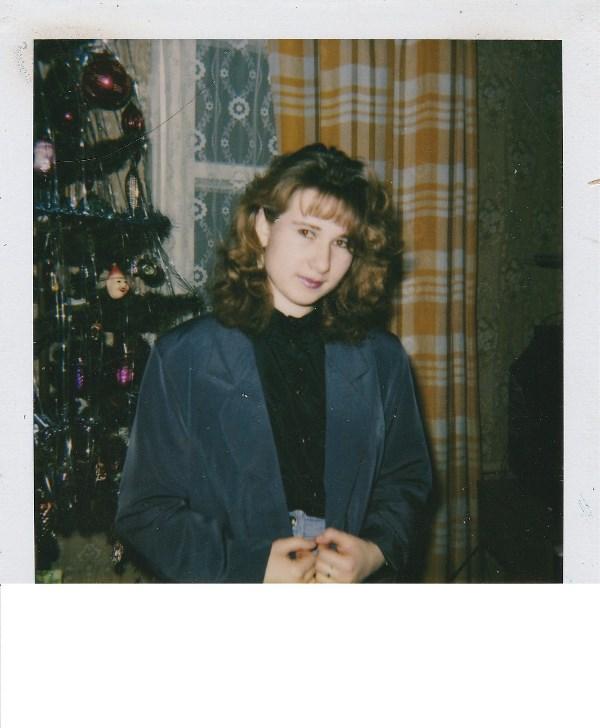 1995 год. Мой первый Новый год вне дома.