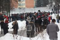 В Туле около 200 человек пришли на несанкционированный митинг, Фото: 16