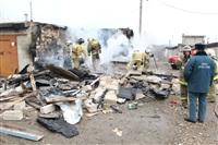 Пожар на ул. Победы в поселке Косая Гора. 3 апреля 2014, Фото: 1