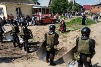 Плеханово, итоги дня: В таборе принудительно снесли первые 10 домов, Фото: 19
