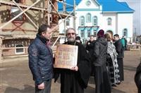 Освящение креста купола Свято-Казанского храма, Фото: 9