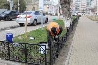 Евгений Авилов проинспектировал ход работ по благоустройству. 23 апреля 2016 года, Фото: 4