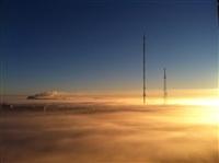Необычные клубы дыма над заводом. Косая Гора, 21 января 2014, Фото: 4