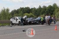 В ДТП под Тулой погибли три сотрудника УФСИН, Фото: 10