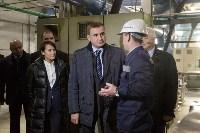 В Узловском районе Алексей Дюмин посетил  ОАО «Пластик», Фото: 16