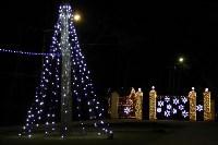 В Ясной Поляне появилась новогодняя иллюминация, Фото: 4