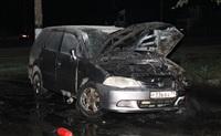В Пролетарском районе Тулы сожгли иномарку, Фото: 3