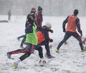 «Арсенал» готовится на снежном поле к игре против «Тосно», Фото: 5