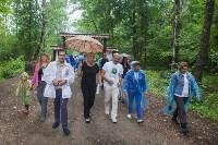 На экотропе «Малиновая засека» прошел Всероссийский субботник, Фото: 41