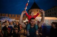 Как туляки поддерживали сборную России в матче с Бельгией, Фото: 53