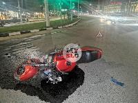На ул. Мосина в Туле разбился мотоциклист, Фото: 9