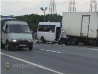 Авария с пассажирской маршруткой из Тулы под Москвой, Фото: 4