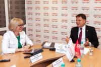 Владимир Груздев пообщался с журналистами «Слободы» и Myslo, Фото: 16