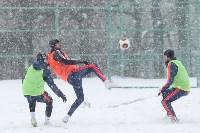 «Арсенал» готовится на снежном поле к игре против «Тосно», Фото: 28