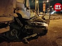 Столкновение Renault и грузовика, Фото: 2