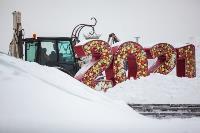 Последствия снежного циклона в Туле, Фото: 76