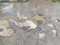 Ямы на улице Седова: «Вот такой ширины! Вот такой глубины!», Фото: 7