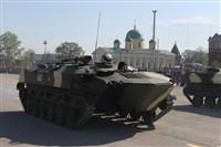 Военный парад в Туле, Фото: 27