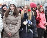 Возложение цветов к памятнику на площади Победы. 21 февраля 2014, Фото: 17