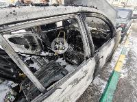 В Туле на улице Ф. Энгельса сгорел припаркованный Ford, Фото: 10