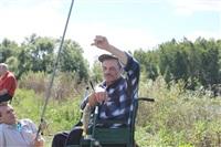 Тульские инвалиды-колясочники выехали на рыбалку, Фото: 17