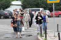 Мини-бунт перед сносом торговых павильонов на Фрунзе. 23.06.2015, Фото: 8