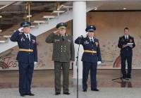 Церемония крепления Боевого знамени к древку, Фото: 4