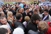 Торжественное освящение колоколов Успенского собора, Фото: 11